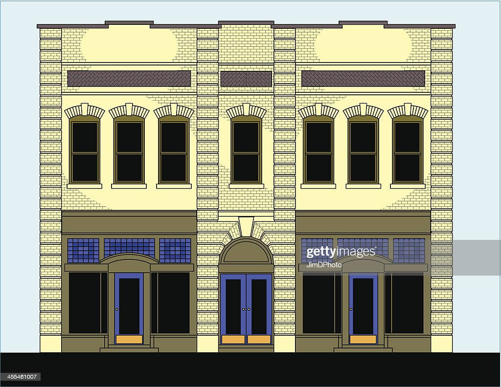Building with storefront