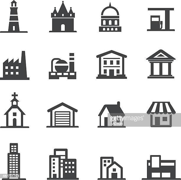 Buildings Icons - Acme Series