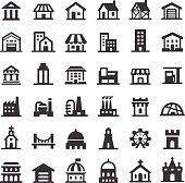 Buildings Icons - Big Series