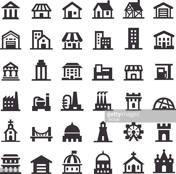 Buildings Icons - Big Series