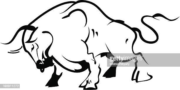 Bull outline