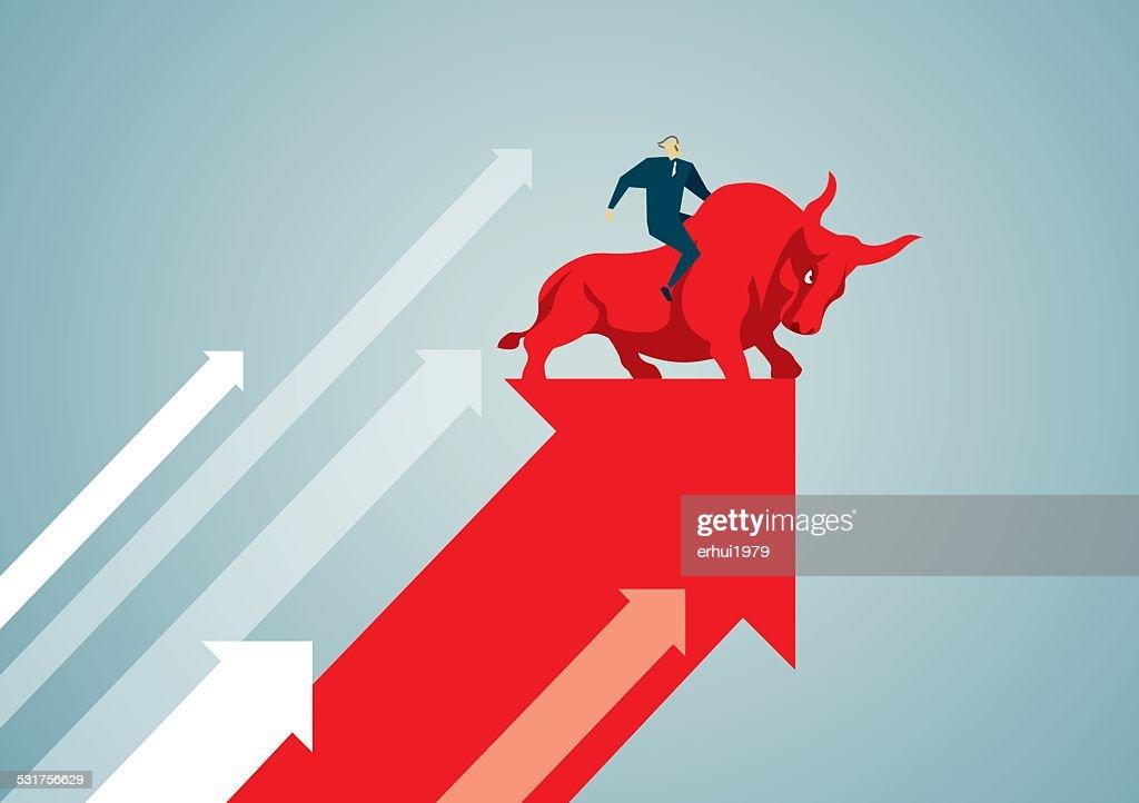 Bull : stock illustration