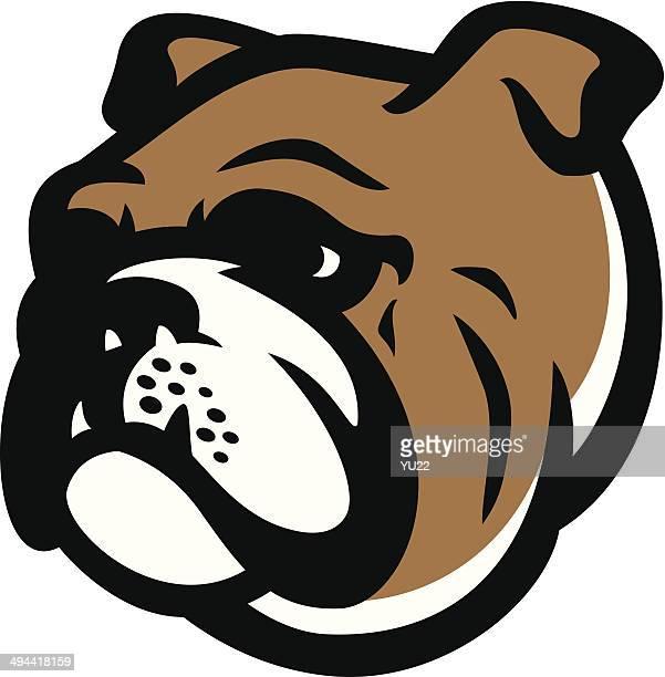 Illustrations et dessins anim s de bouledogue getty images - Bulldog dessin anime ...