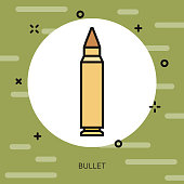 Bullet Military Icon