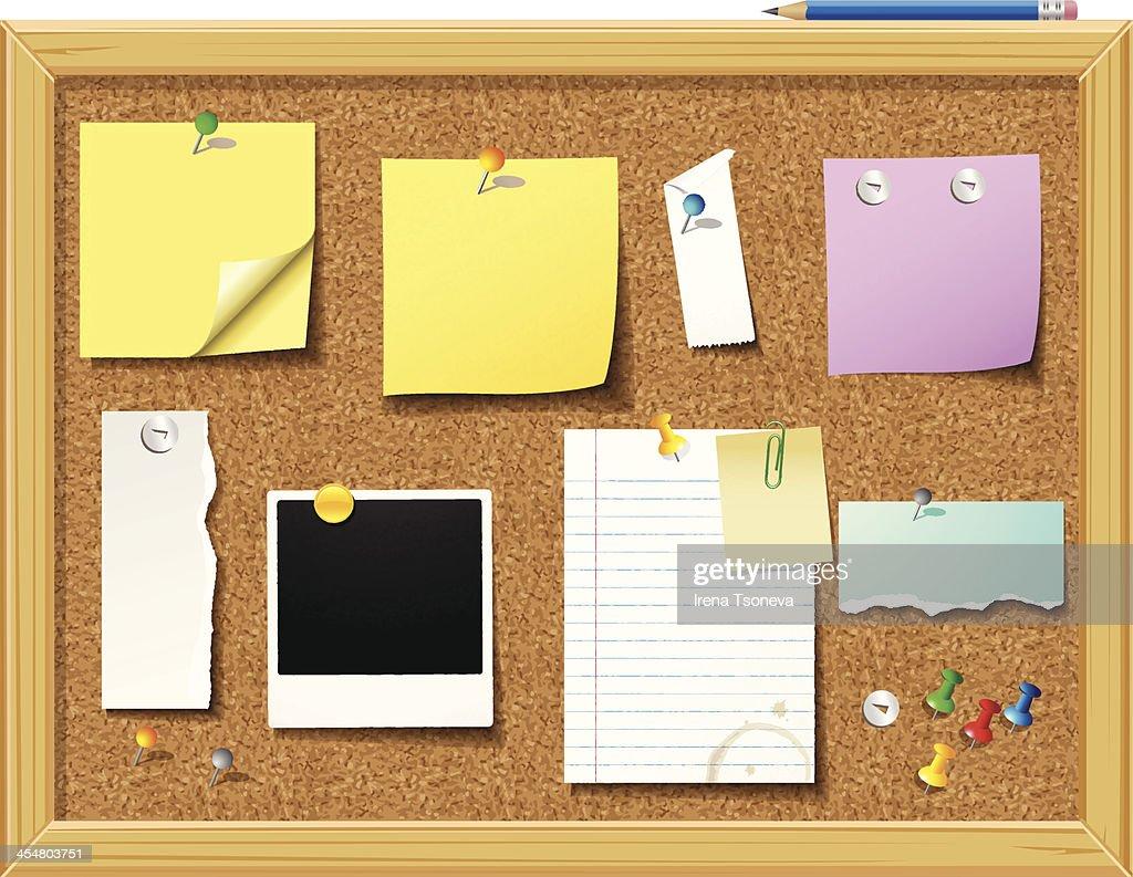 Bulletin Board - Illustration