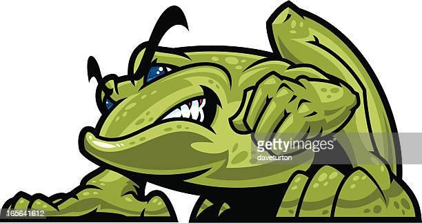 Bullfrog Mascot