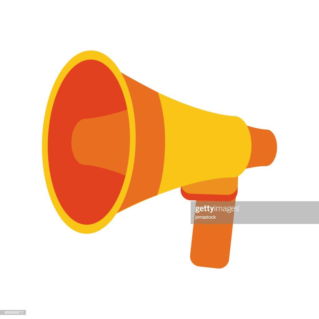 Bullhorn or megaphone icon image vector art getty images bullhorn or megaphone icon image vector art publicscrutiny Gallery