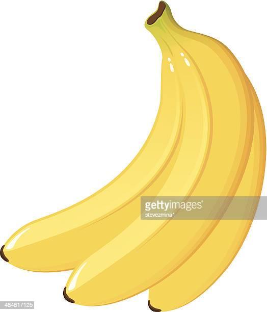 bunch of bananas - banana stock illustrations, clip art, cartoons, & icons