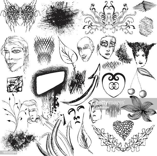 bunch of illustrations