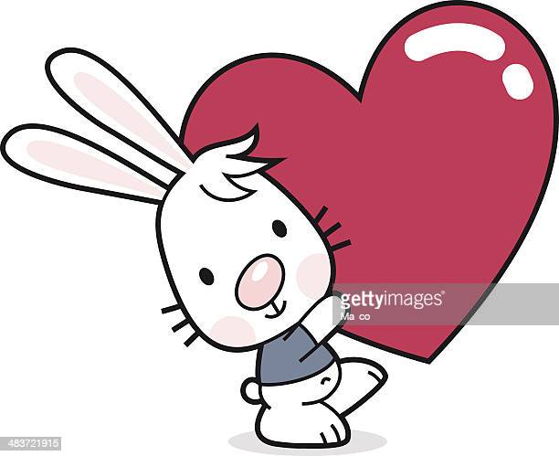 Bunny with Heart