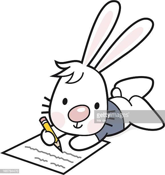 bunny writes