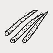 Burdock doodle