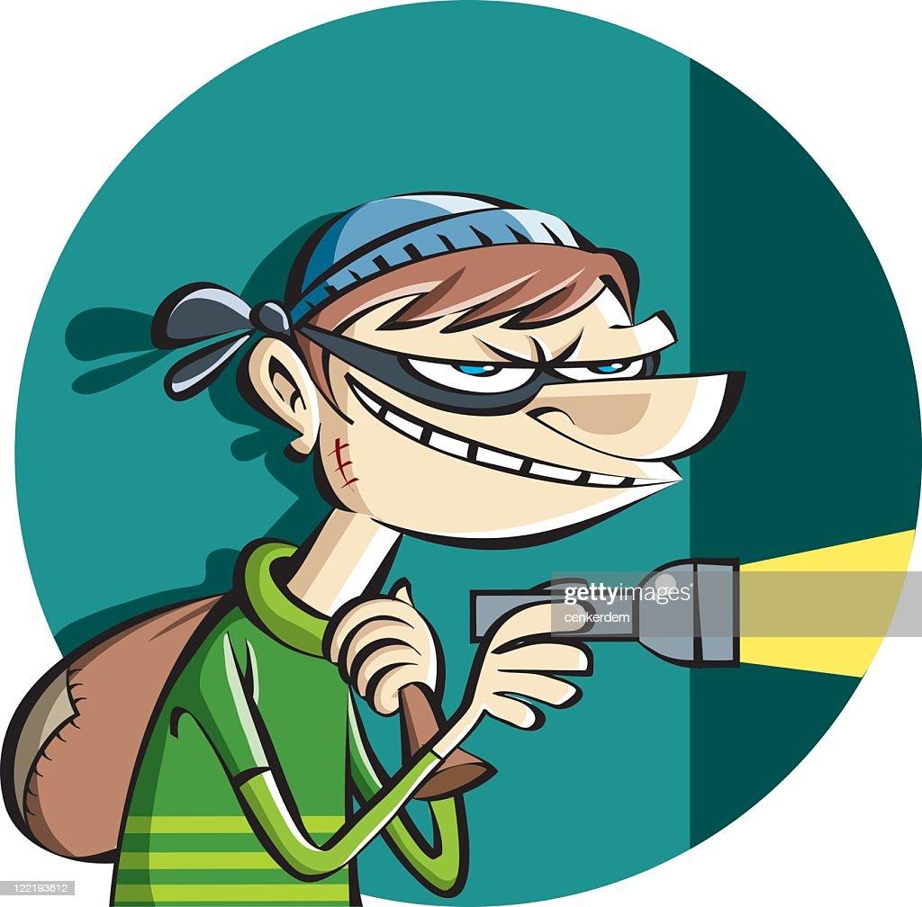burgler at work vector art getty images