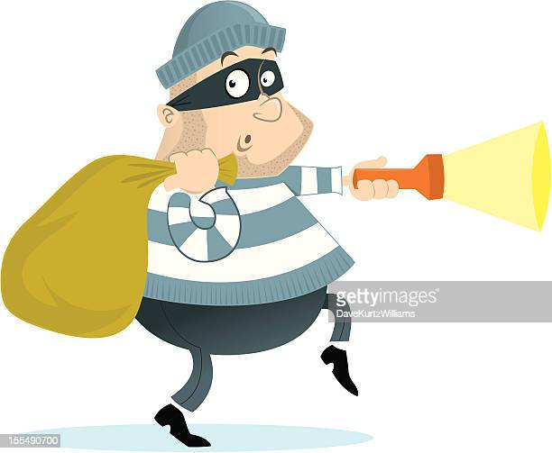 burgular - burglar stock illustrations
