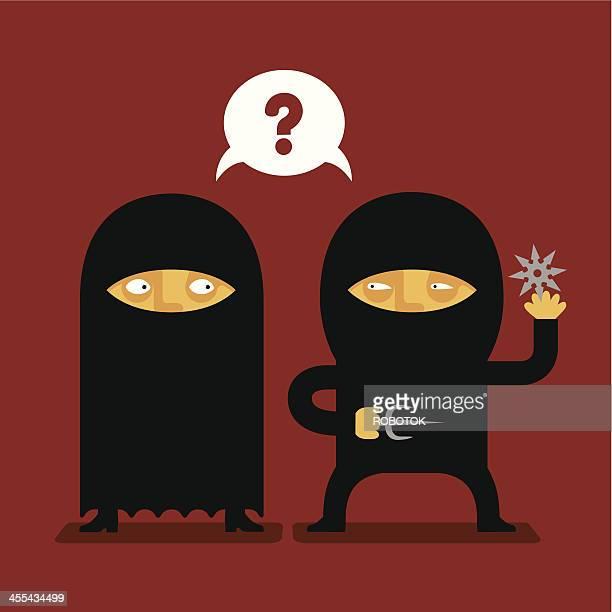 Burka vs Ninja