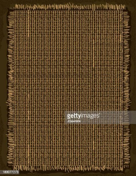 バーラップの背景 - 荒い麻布点のイラスト素材/クリップアート素材/マンガ素材/アイコン素材