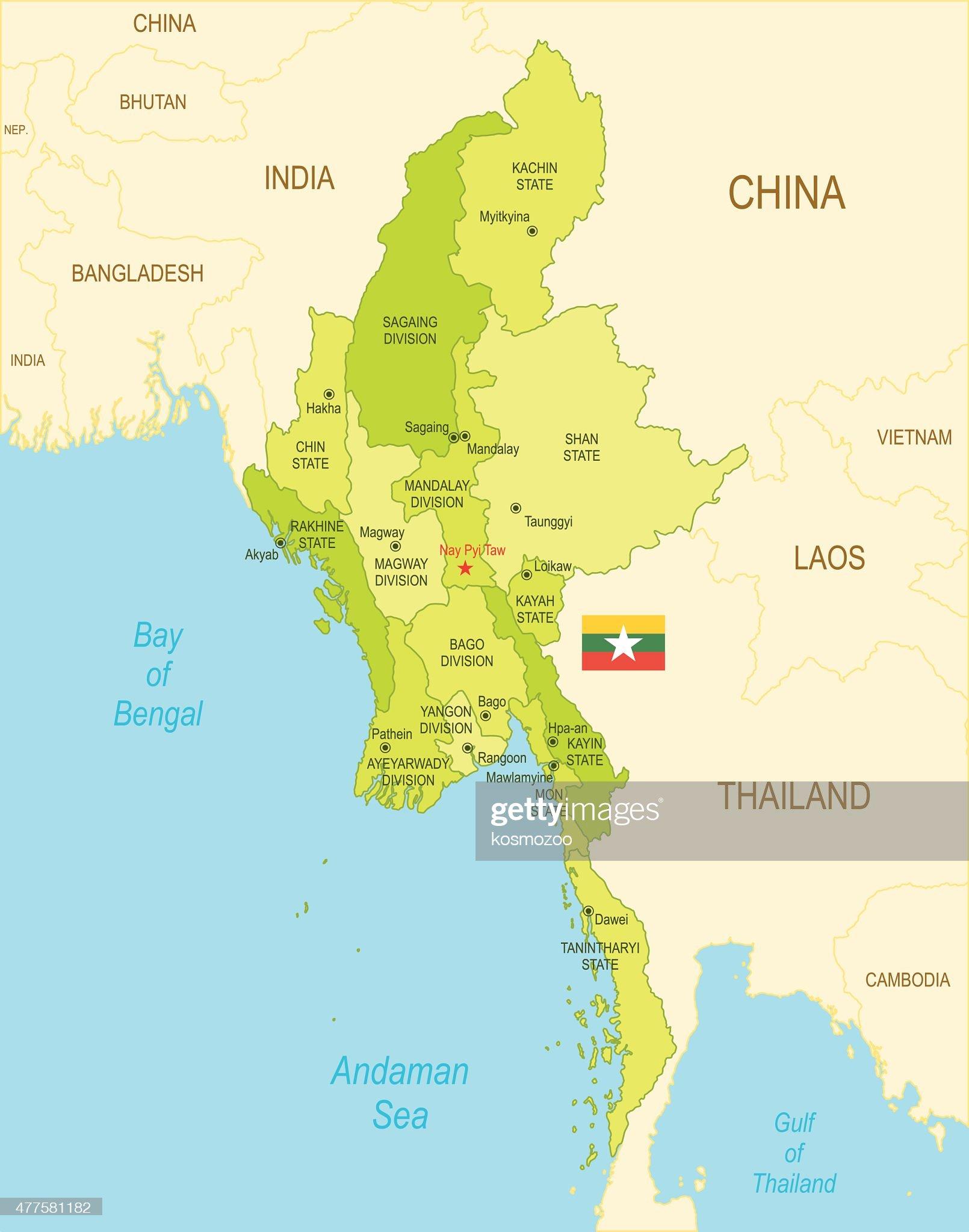 La Birmanie : Illustration