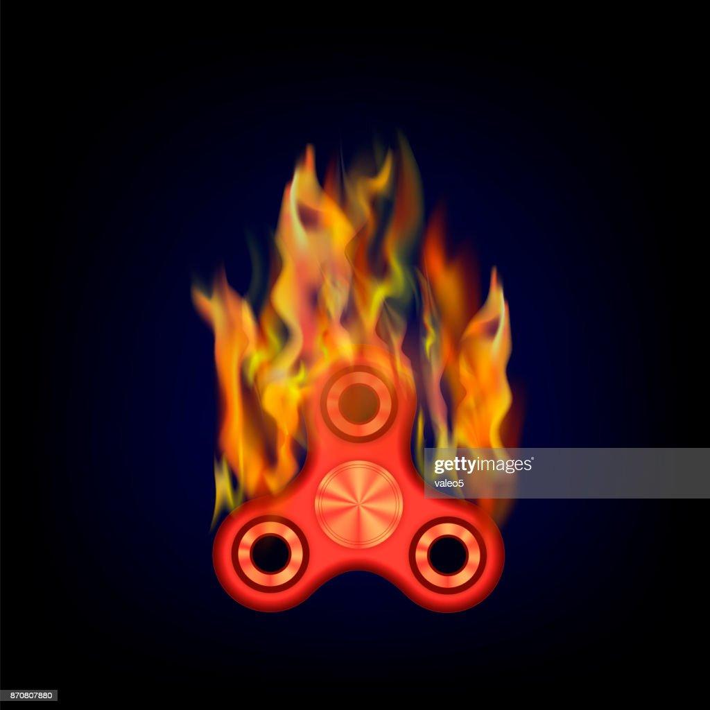Burning Finger Spinner