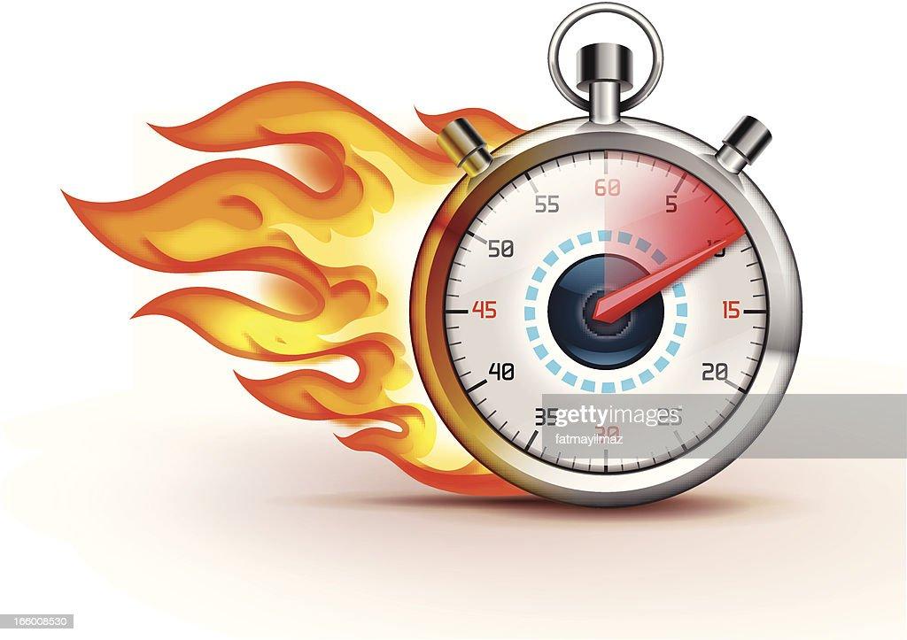 Burning Stopwatch