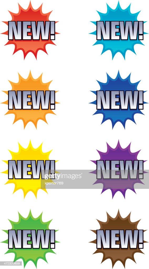 NEW! Bursts/Stars