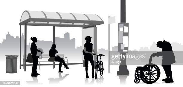 Bus Stop Elderly