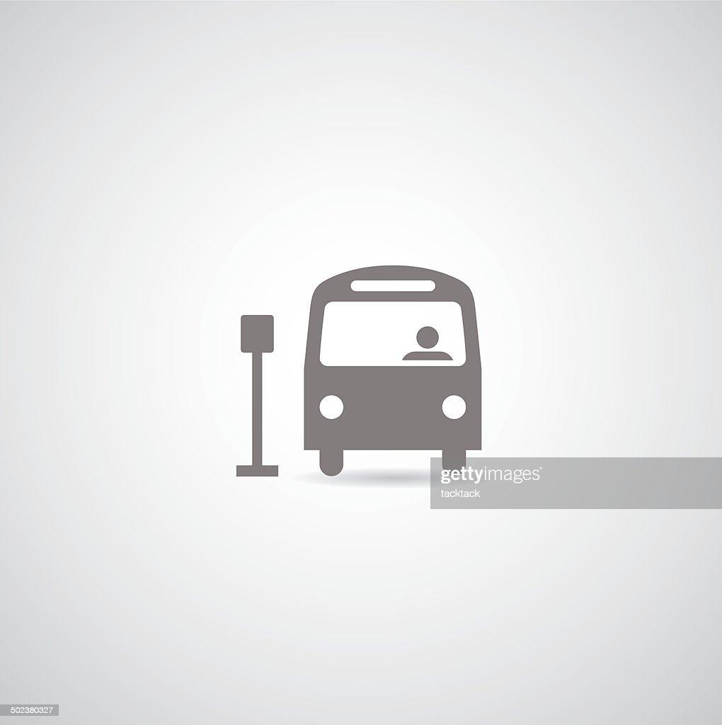 bus vector symbol