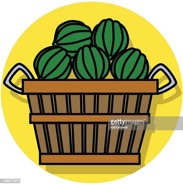 bushel of squash icon