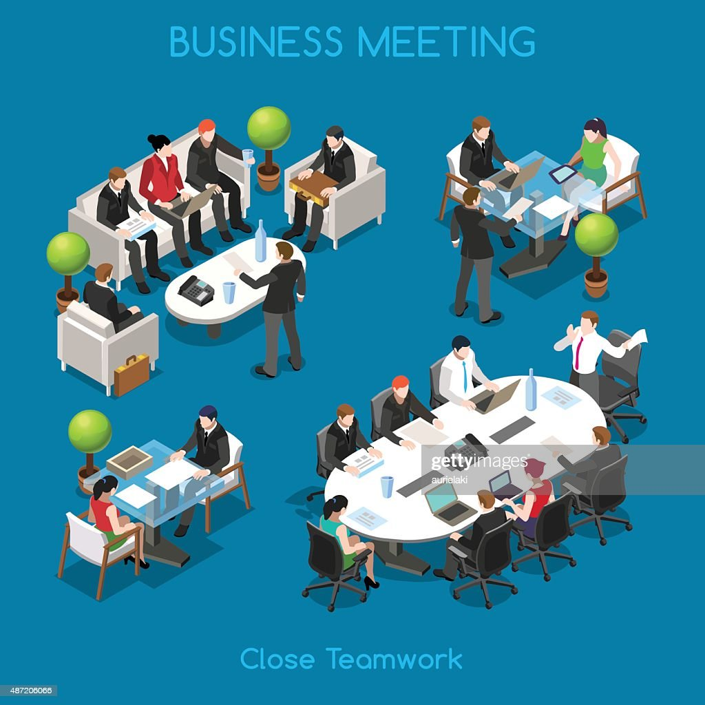 Business 01 People Isometric