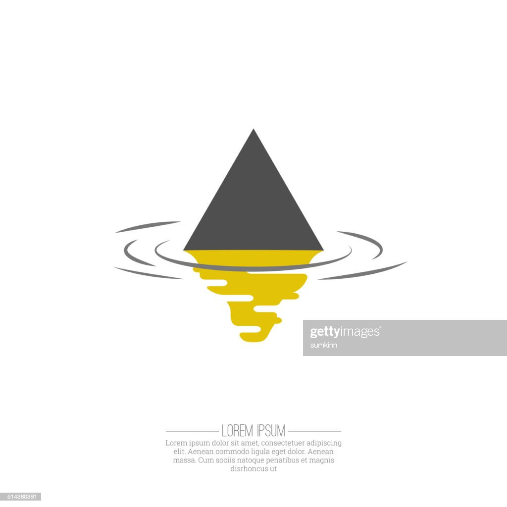 Business Abstract triangle  icon