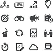Business Affairs Icons Set     Acme Series