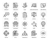 Business Analysis Icon Set