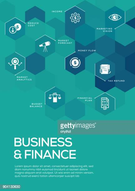business and finance. brochure template layout, cover design - finance and economy stock illustrations, clip art, cartoons, & icons