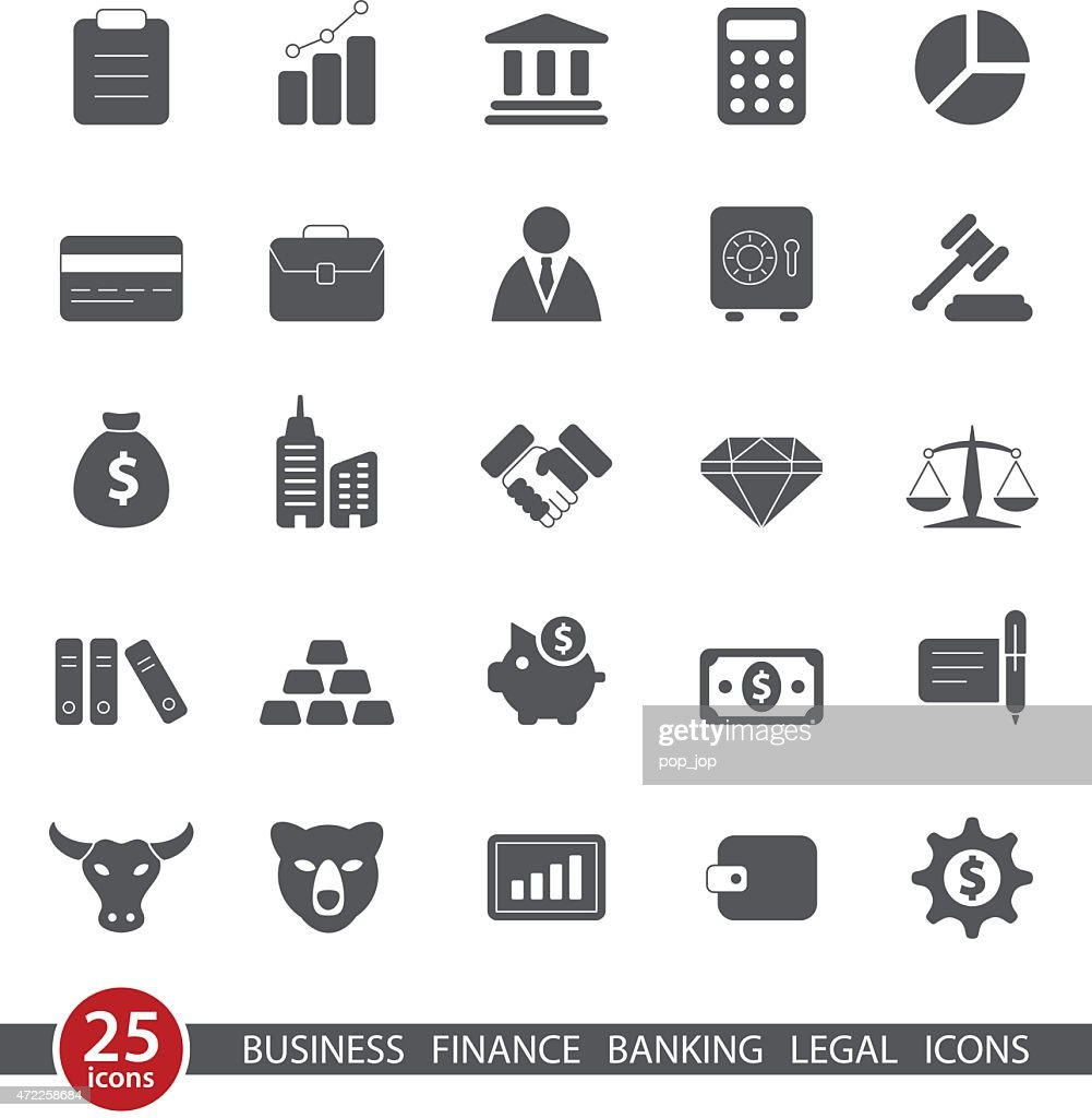 Business and Finance - Icon Set