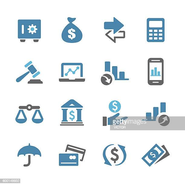 Business and Finance Icons - Conc Series