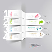 Business and finance stock exchange Infographics numbers.