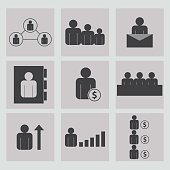 Business and finance,partner, job, money, vector, meeting, sign, Icons.