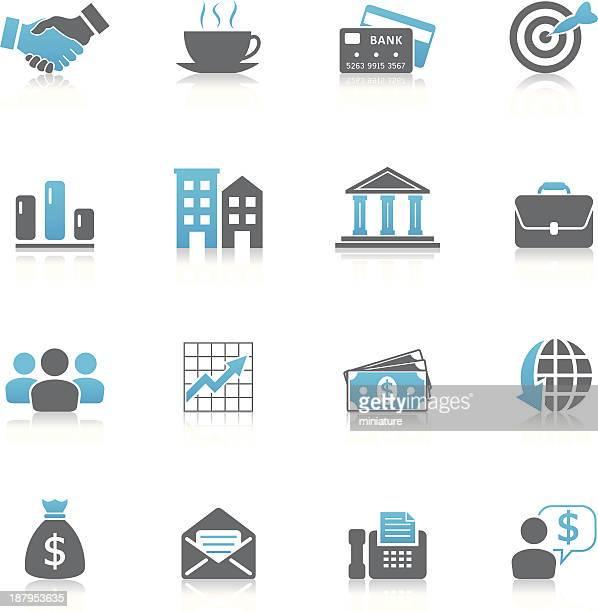 Negócios e Finanças ícones