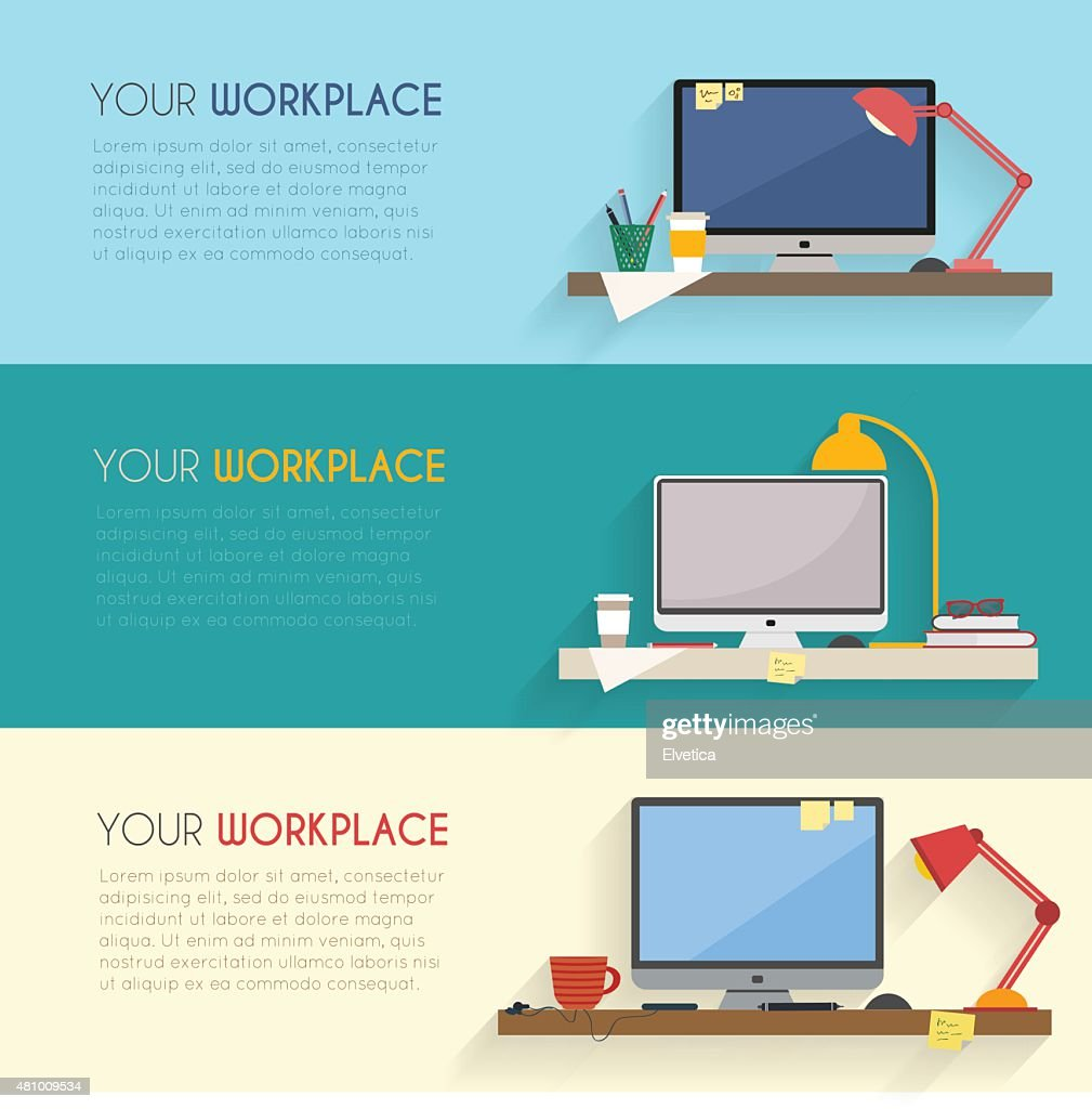 Business and home workplace