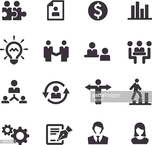 Business and Human Resource Icons - Acme Series