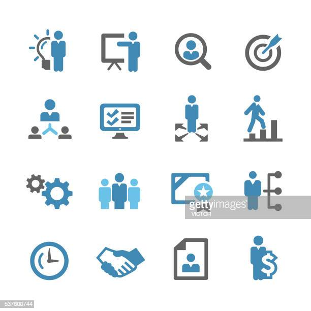Business and Management Icons - Conc Series