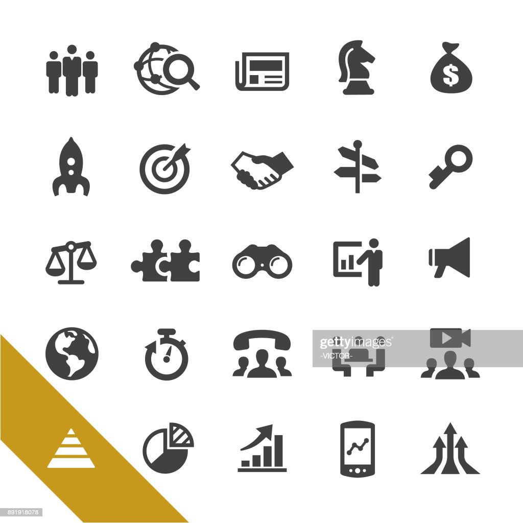 Business and Marketing Icons - Select Series : stock illustration