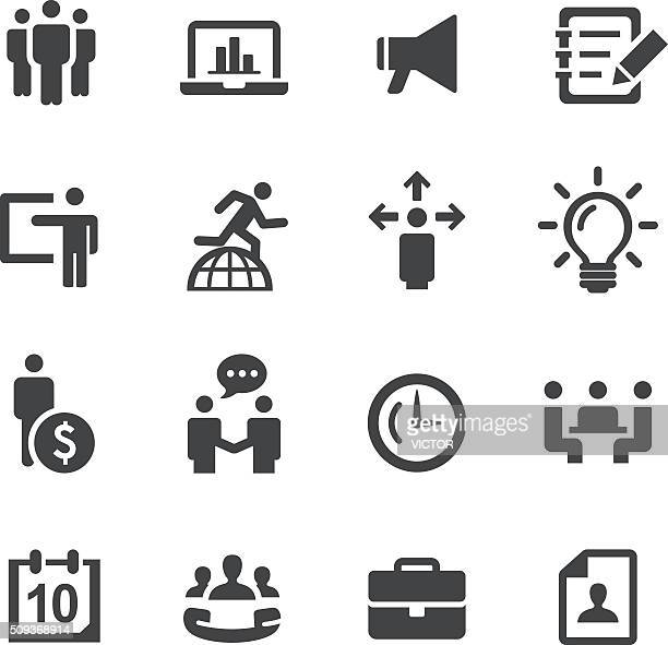 business and office icons - acme series - money manager stock illustrations, clip art, cartoons, & icons