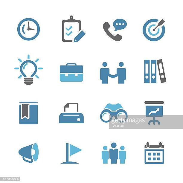 business and office icons - conc series - filing documents stock illustrations, clip art, cartoons, & icons