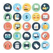 Business and SEO Vector Icons 4