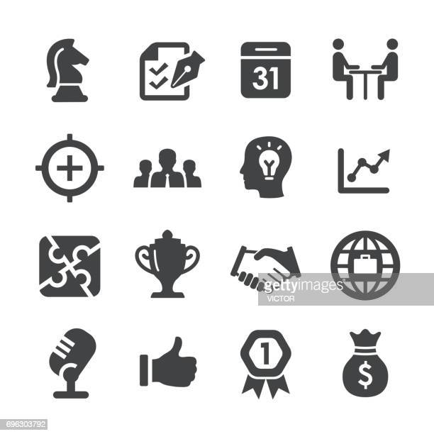 Business and Success Icons Set - Acme Series