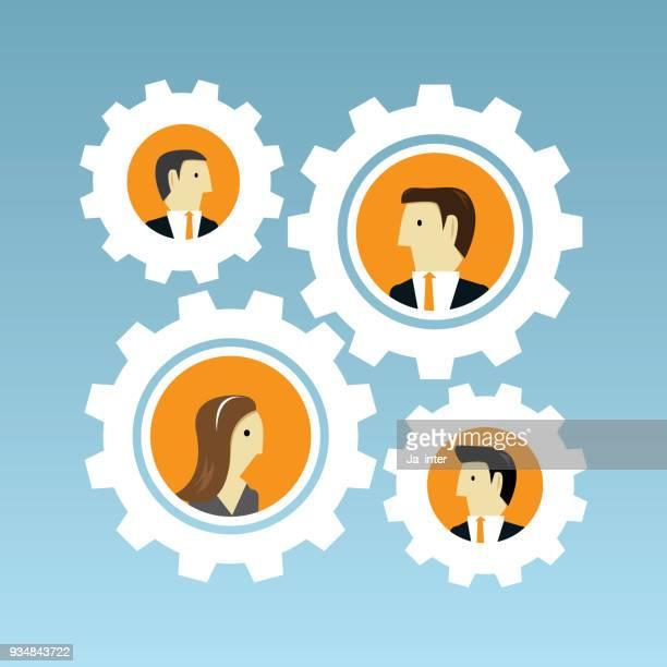 Business and teamwork
