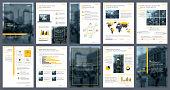 Business annual report creative design. Report template and presentations. Brochure creative design.