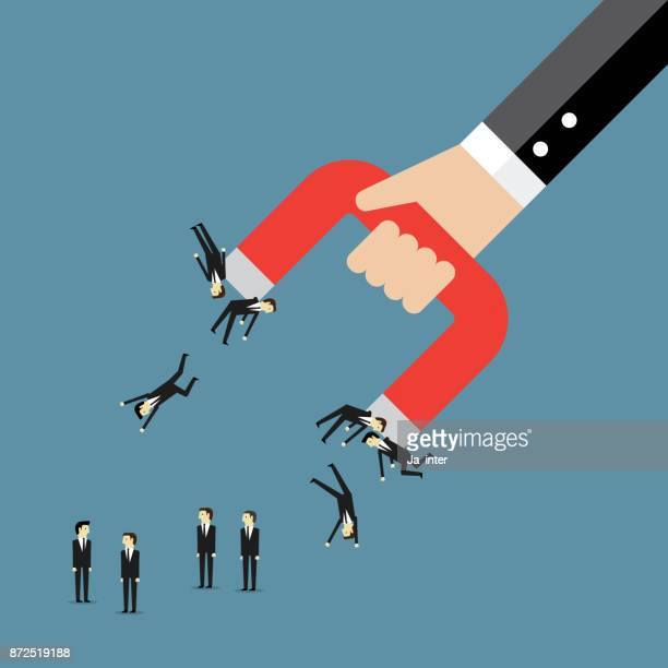 business attractive power - magnet stock illustrations, clip art, cartoons, & icons