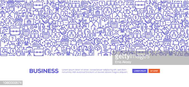 business banner - small business stock illustrations
