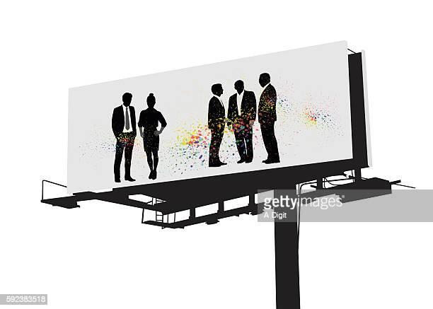 Business Billboard Color Splash